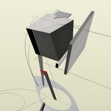 The Proun Series by El Lissitzky ~ Russian Constructivists